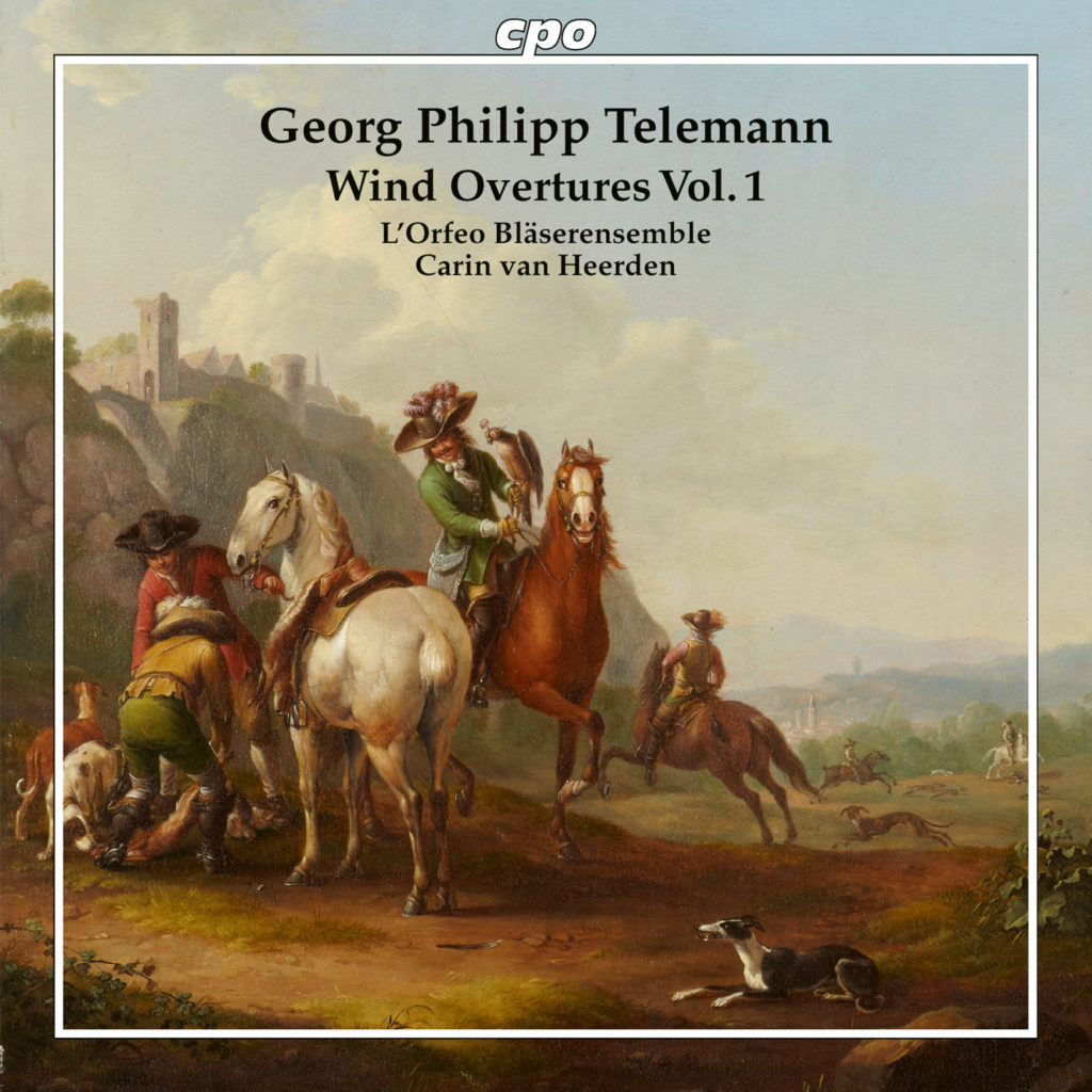 Cover Telemann Wind Overtures 1