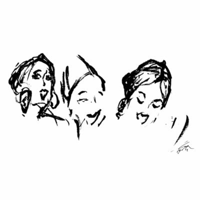 Balkis, Dardane, Rezia - Threesome (01:00 – )
