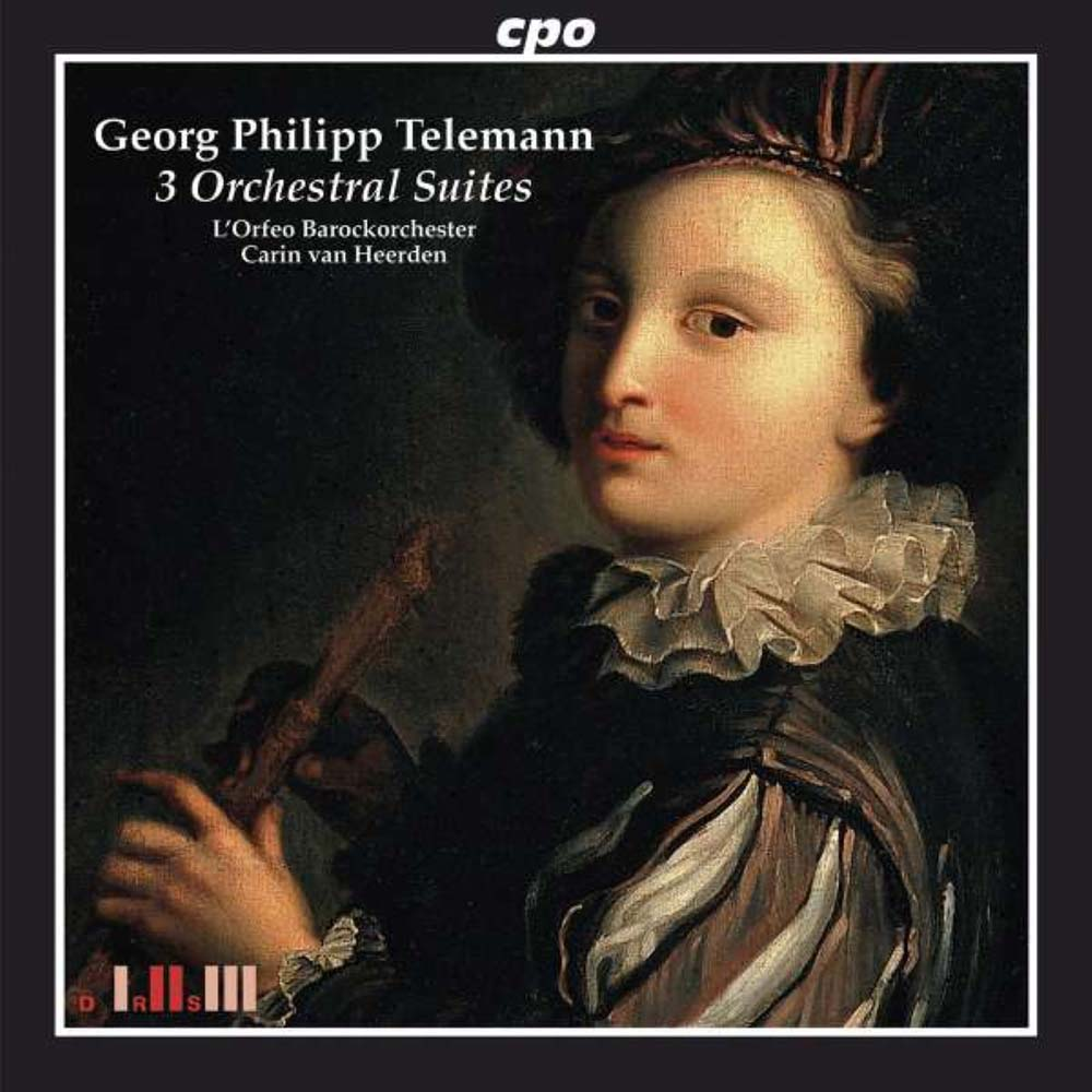 Telemann 3 Orchestral Suites