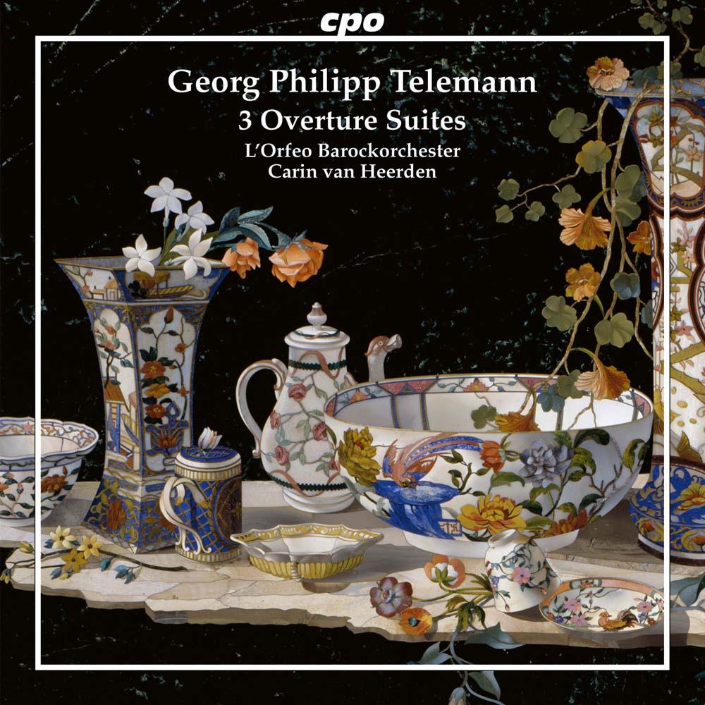 Telemann 3 Overtures Suites