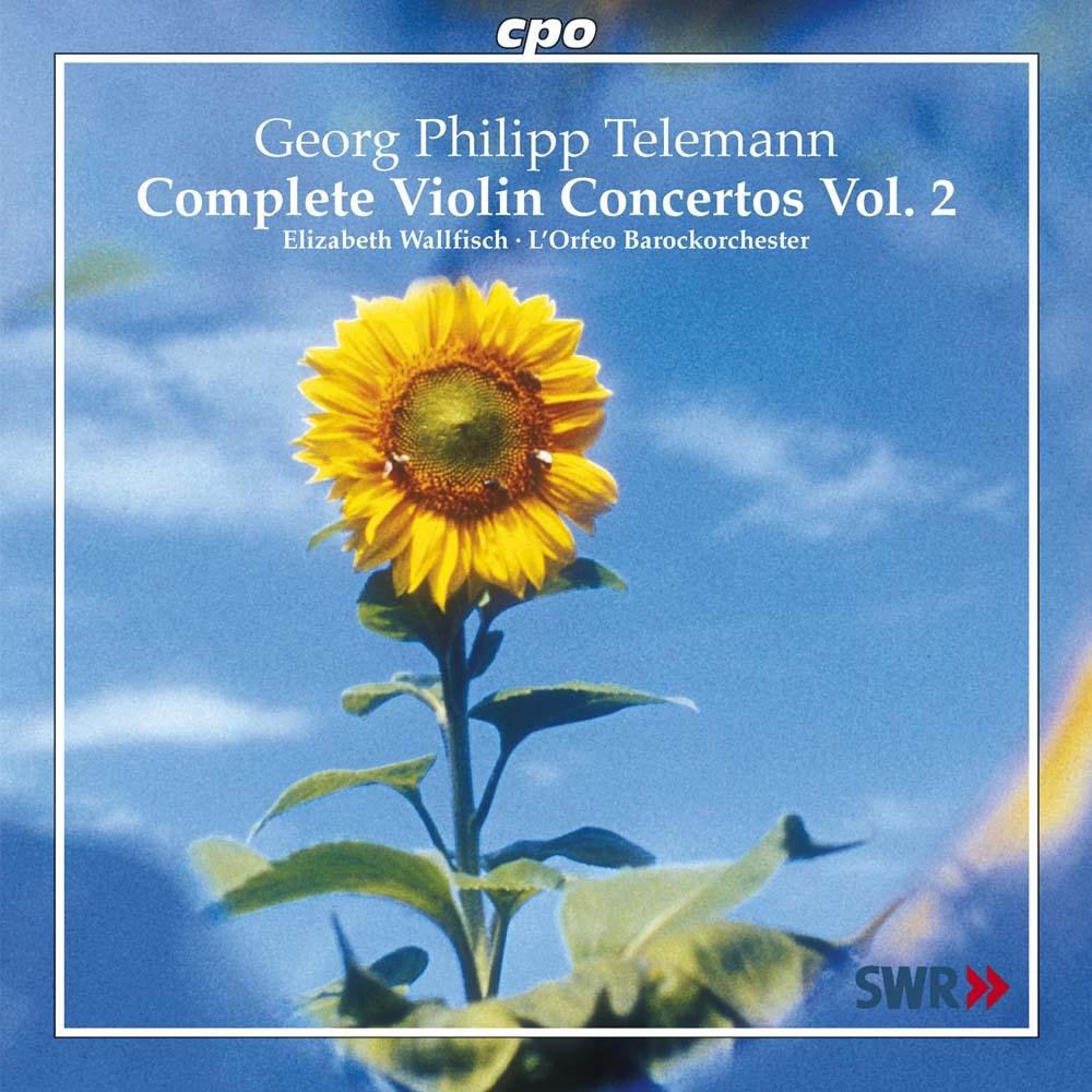 Telemann Violinkonzerte Vol. 2