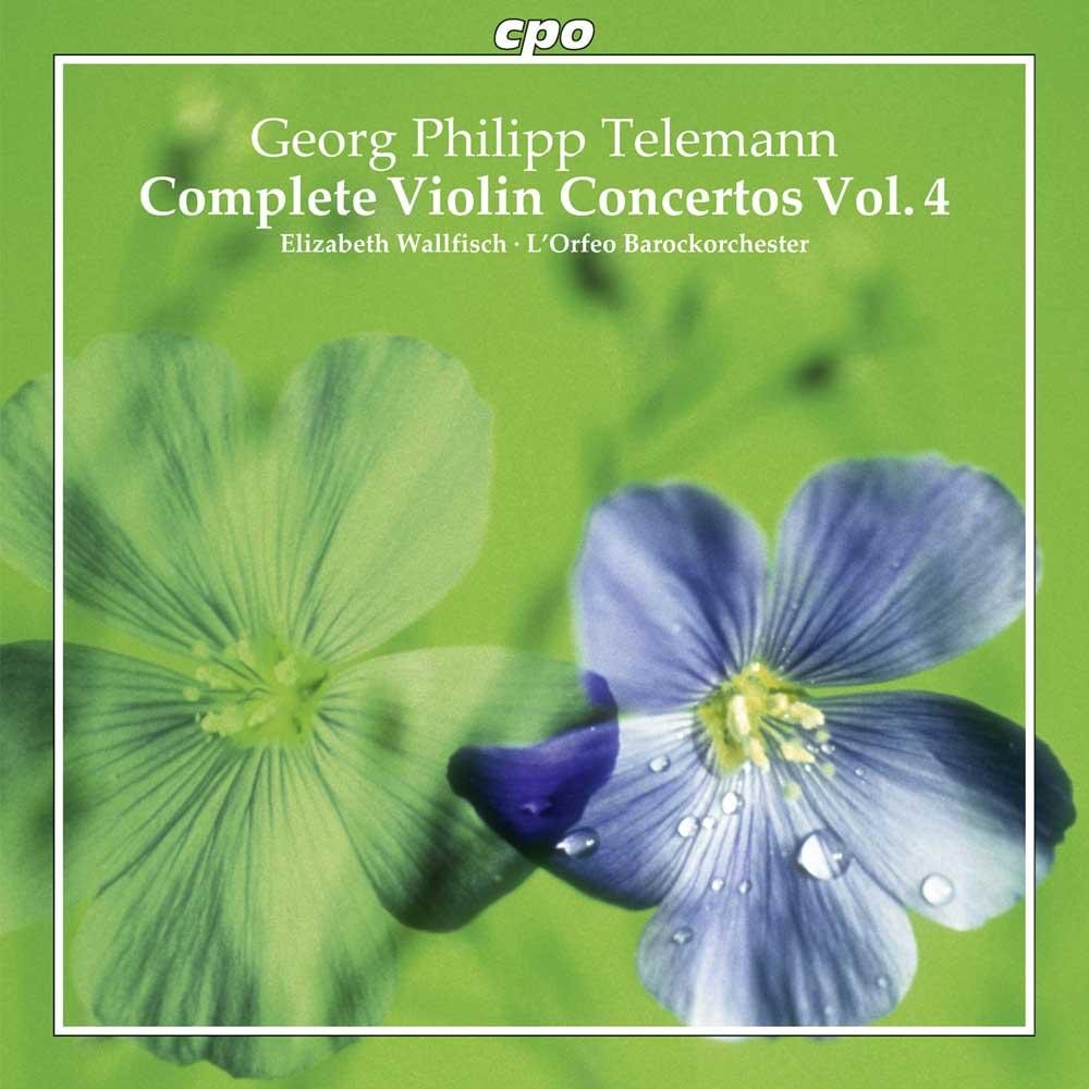 Telemann Violin Concertos Vol 4